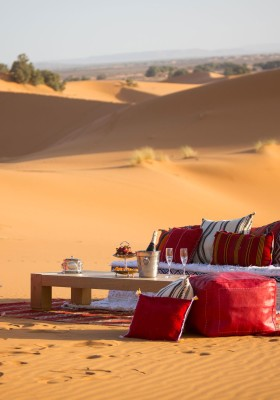 relax in sahara